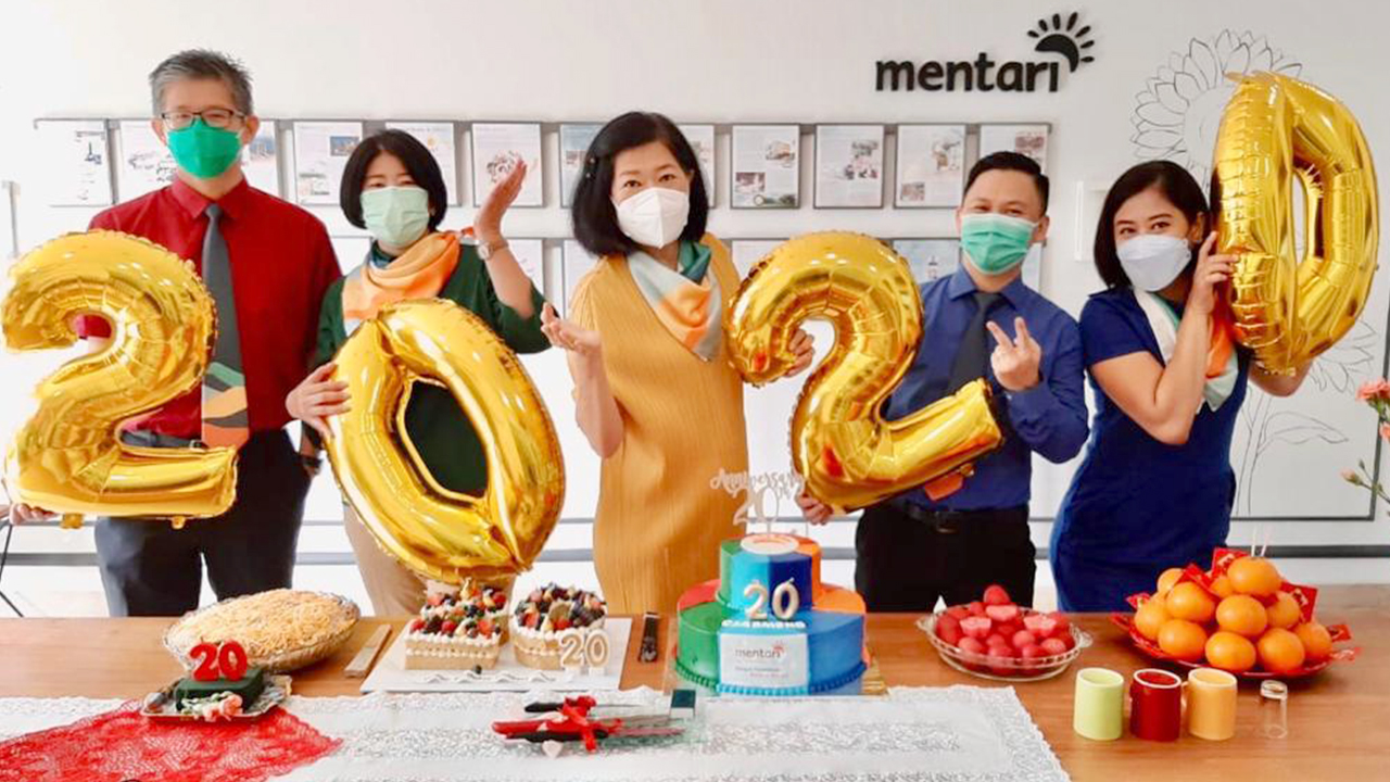 Semarak Perayaan 20th Mentari Group